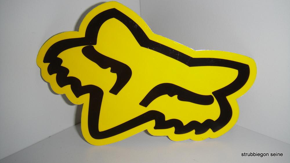 fox racing aufkleber sticker monster energy ken block ebay. Black Bedroom Furniture Sets. Home Design Ideas